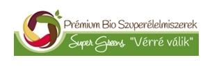Prémium Bio Szuperélelmiszerek Super Greens Vérré Válik