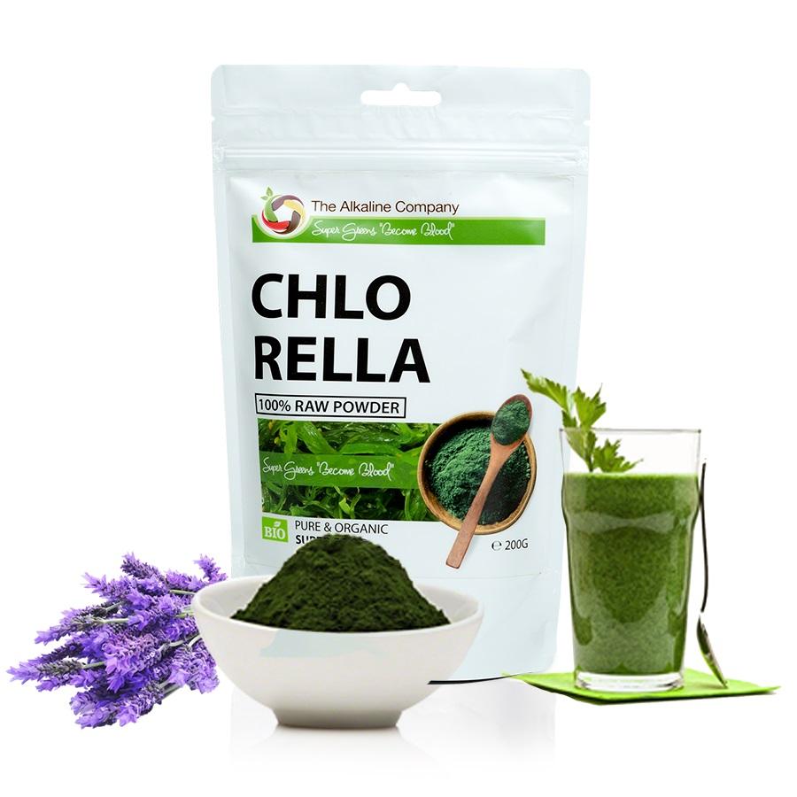 Chlorella alga por