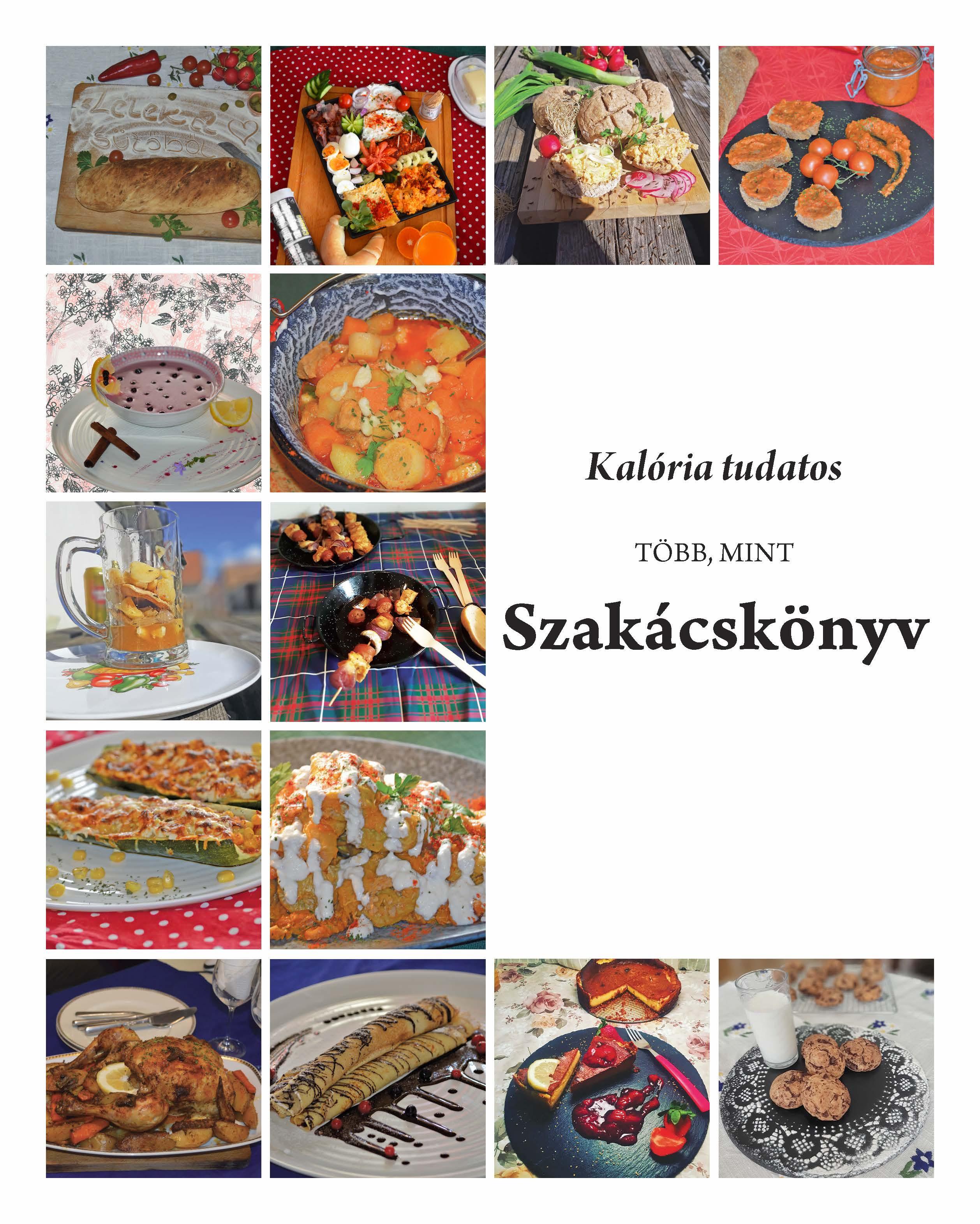 Kalória tudatos szakácskönyv