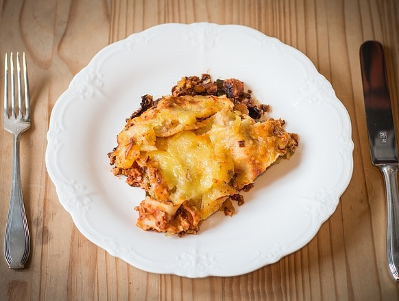 Lisztmentes lasagne
